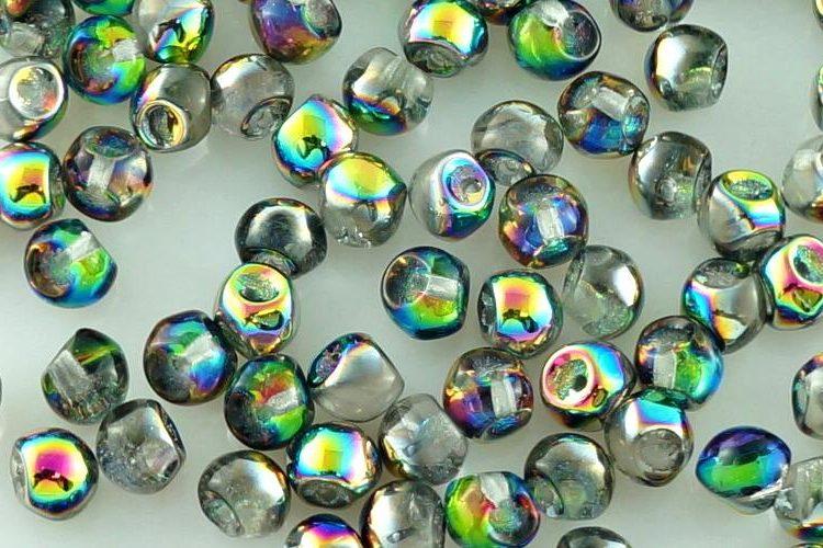 Mushroom Czech Beads