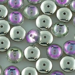 Disc Flat Disk One Hole Czech Beads