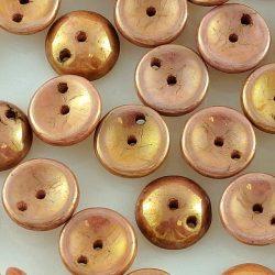 Piggy Czech Two Hole Beads