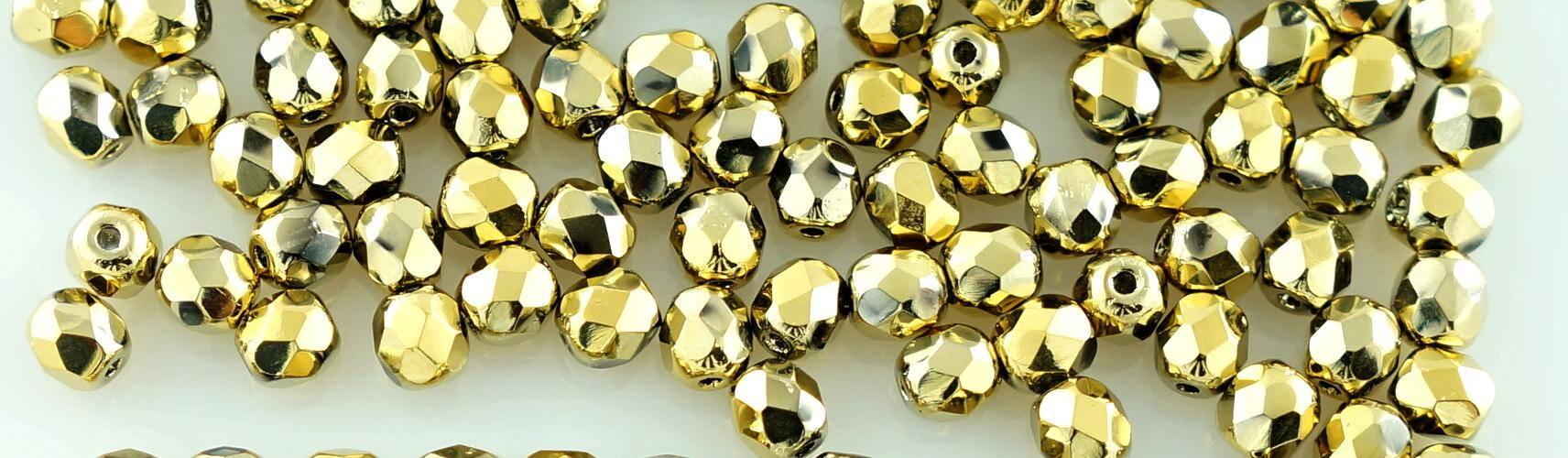 60a305590692b Round Faceted Fire Polished Czech Beads - Picasso Beads - Czech ...