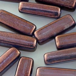 Rectangle Tube Brick Czech Beads