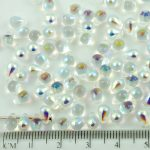 Teardrop Czech Beads - Crystal AB - 6mm